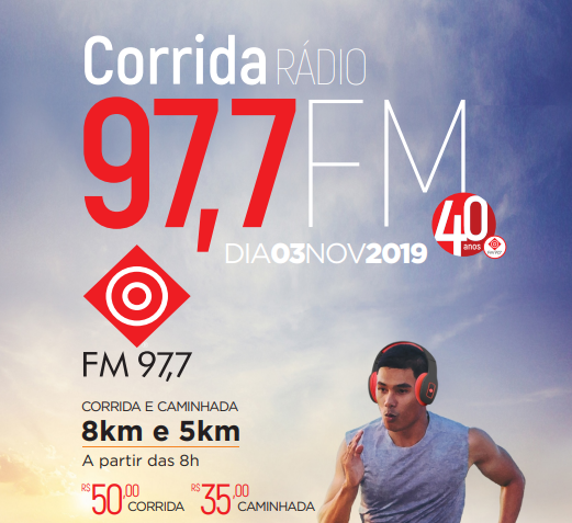 1ª Corrida e Caminhada 97,7 FM